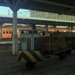 [鉄道関連-駅小物]ターレットトラック 公開