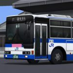 [路線バス]西日本JRバス エアロスターツーステップ(KC-MP717M) 公開