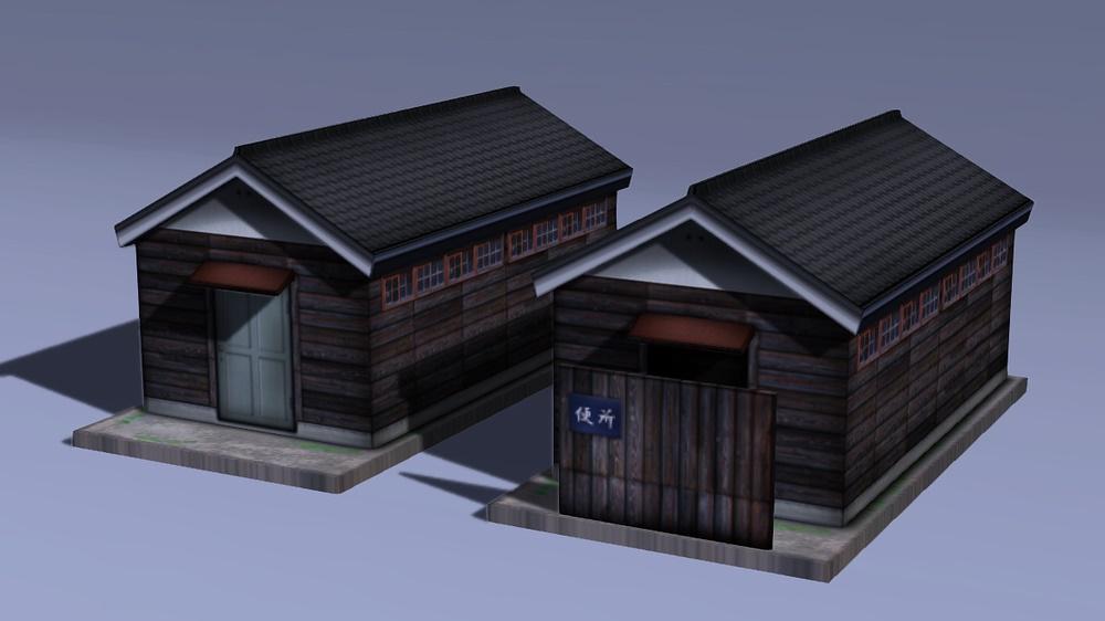 木造倉庫・便所