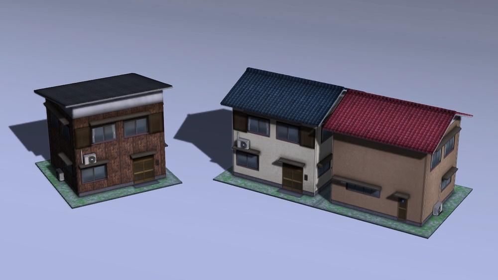 木造モルタル住宅B