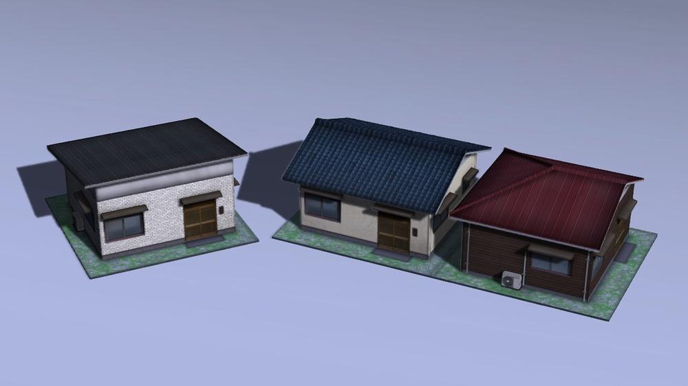 木造モルタル住宅C